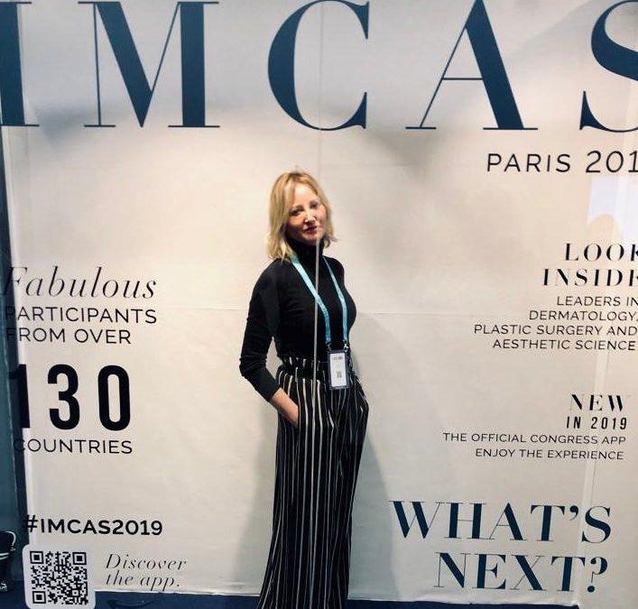 La Doctora Marta Suárez, presente en IMCAS World Congress 2019